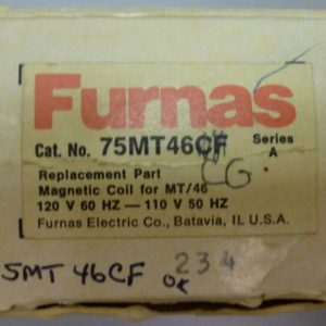 Furnas 75MT46CF 120V Replacement MT/46 Magnetic Coil NEW