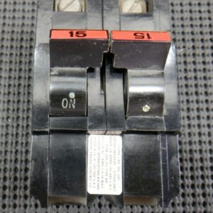 Federal Pacific 215 2P 15A NA Style Plug On Breaker