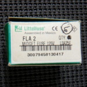 Littelfuse FLA 2 2A 125V Time Delay Fuse – 6 Pieces