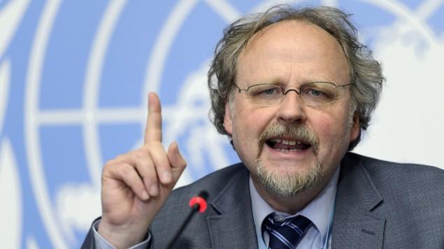 Heineer Bielefeldt, Informador Especial de Naciones Unidas.