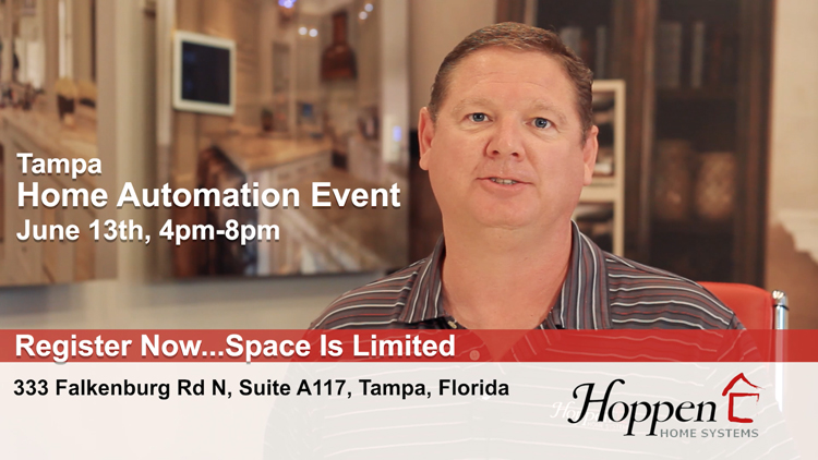 Red Carpet Home Automation Event