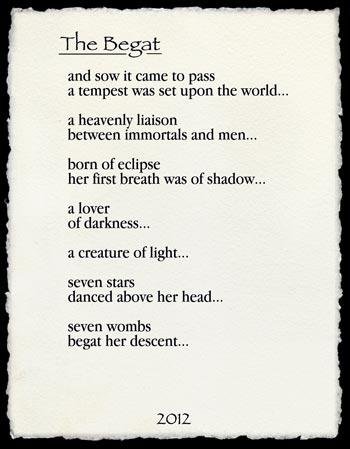 The Begat Poem