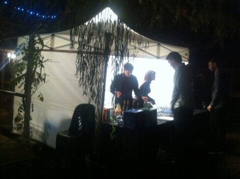 3m x 3m Marquee bar tent