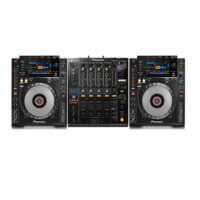 CDJ900 with DJM900 Mixer hire