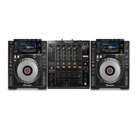 CDJ900 with DJM900 Mixer hire