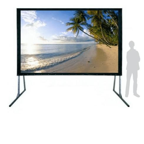 """Framed Screen 150""""-0"""