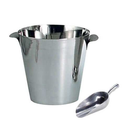 Ice bucket & scoop