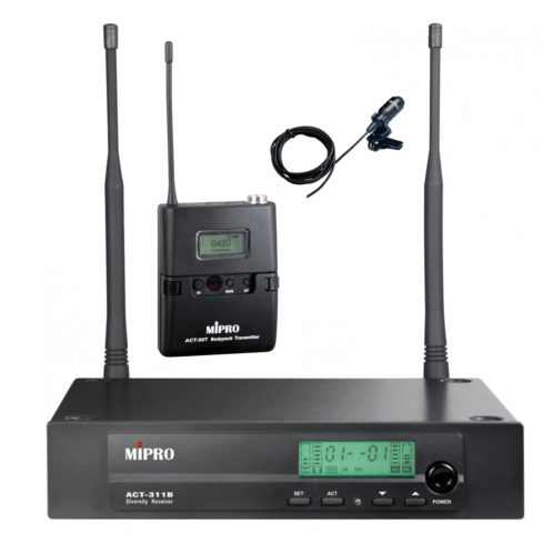 Lapel Microphone & receiver-0