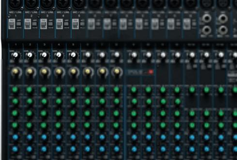 MG20U Mixer hire
