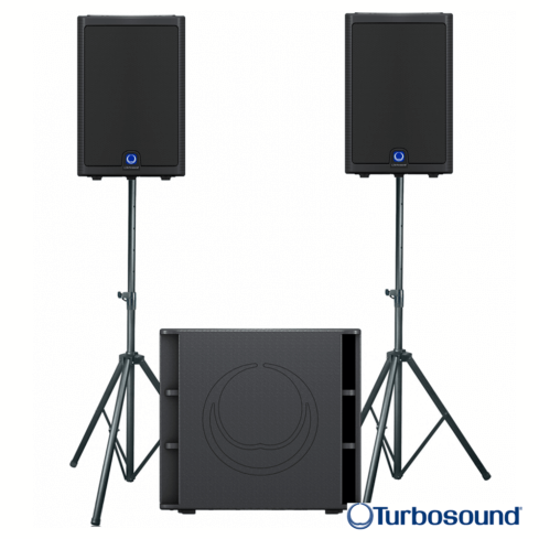 Turbosound M10 Speakers & Subwoofer pack-0