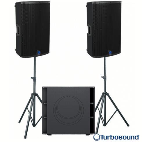 Turbosound M12 Speakers & Subwoofer Pack-0