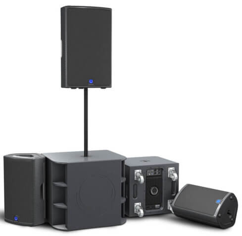 Turbosound M12 Speakers & Subwoofer Pack-649