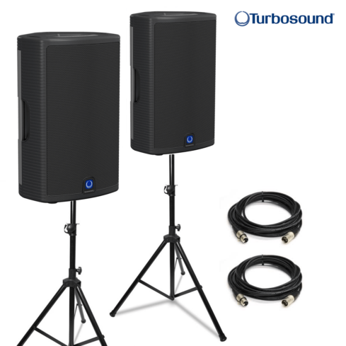 Turbosound Milan M10 powered speakers (pair)-0