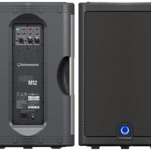 Turbosound Milan M12 Powered speakers (pair)-235
