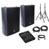 XRS12p Speakers & mixer pack-0