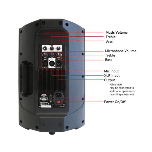 XRS12 Speakers (pair)-307