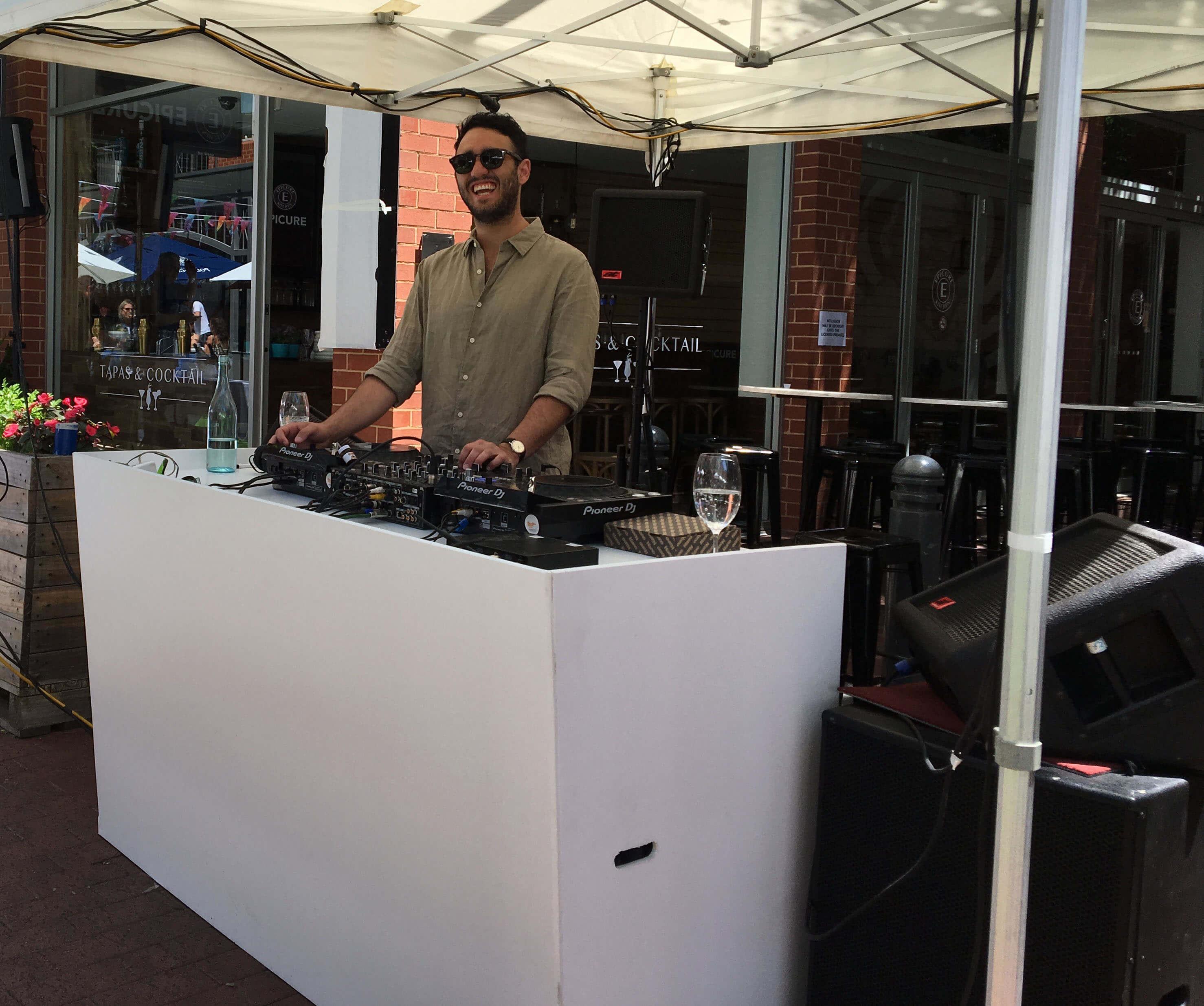DJ console hire