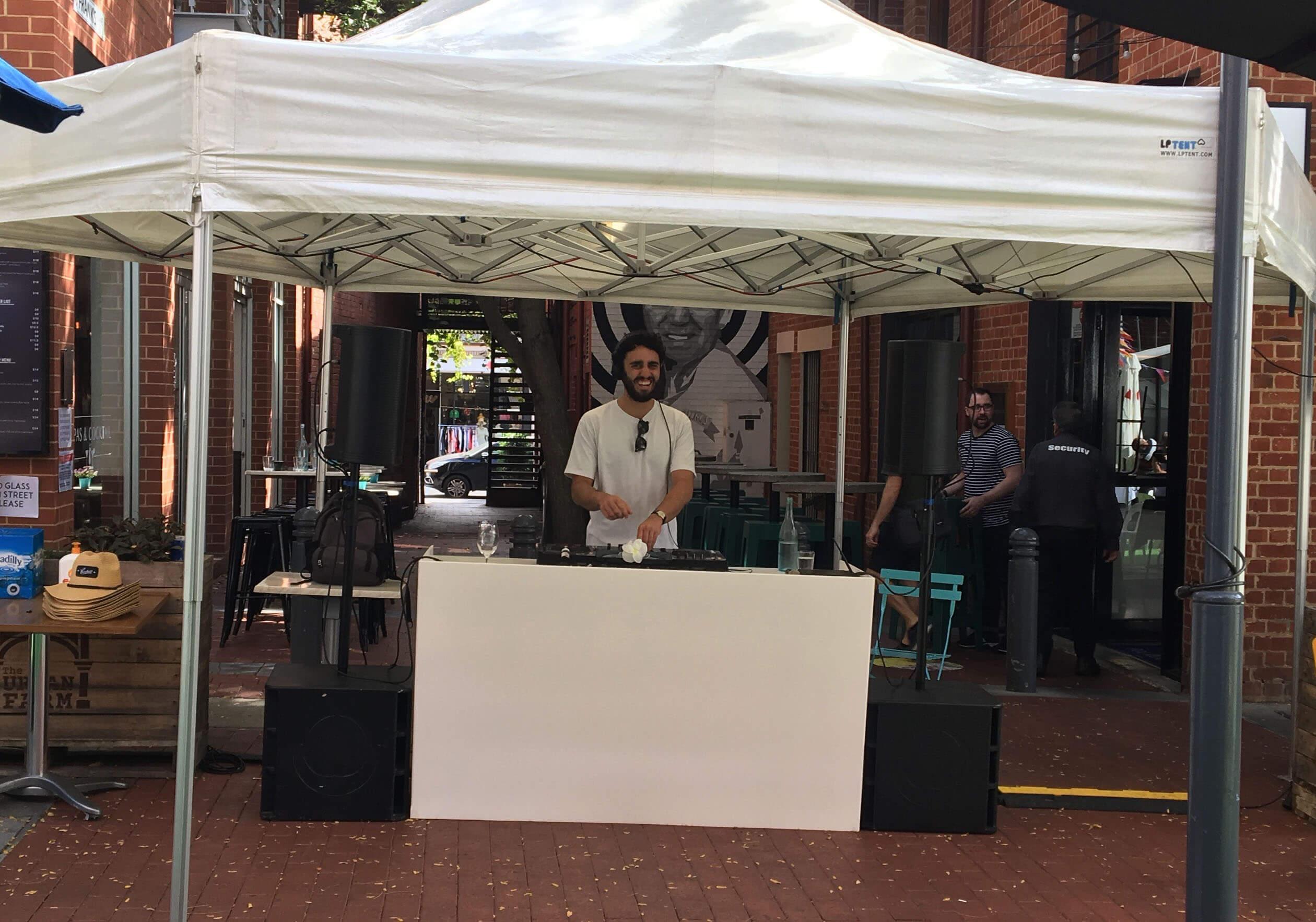 DJ Booth hire