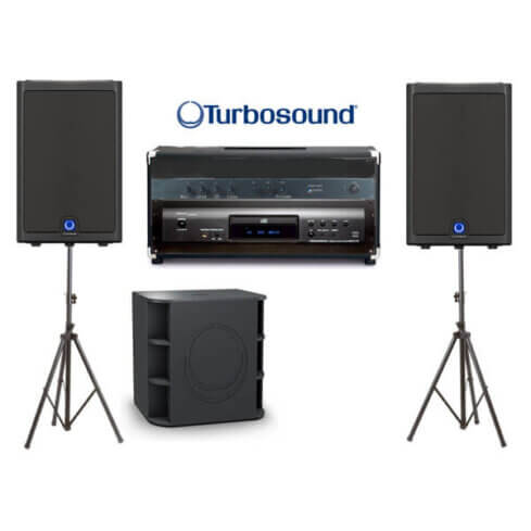 Party sound system hire
