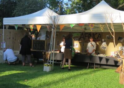 Marquee stall hire