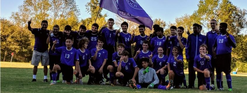 Soccer Win ACC 2018