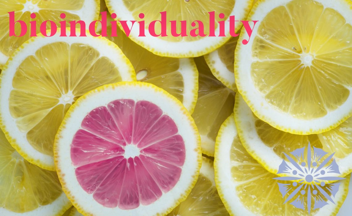 Bioindividuality