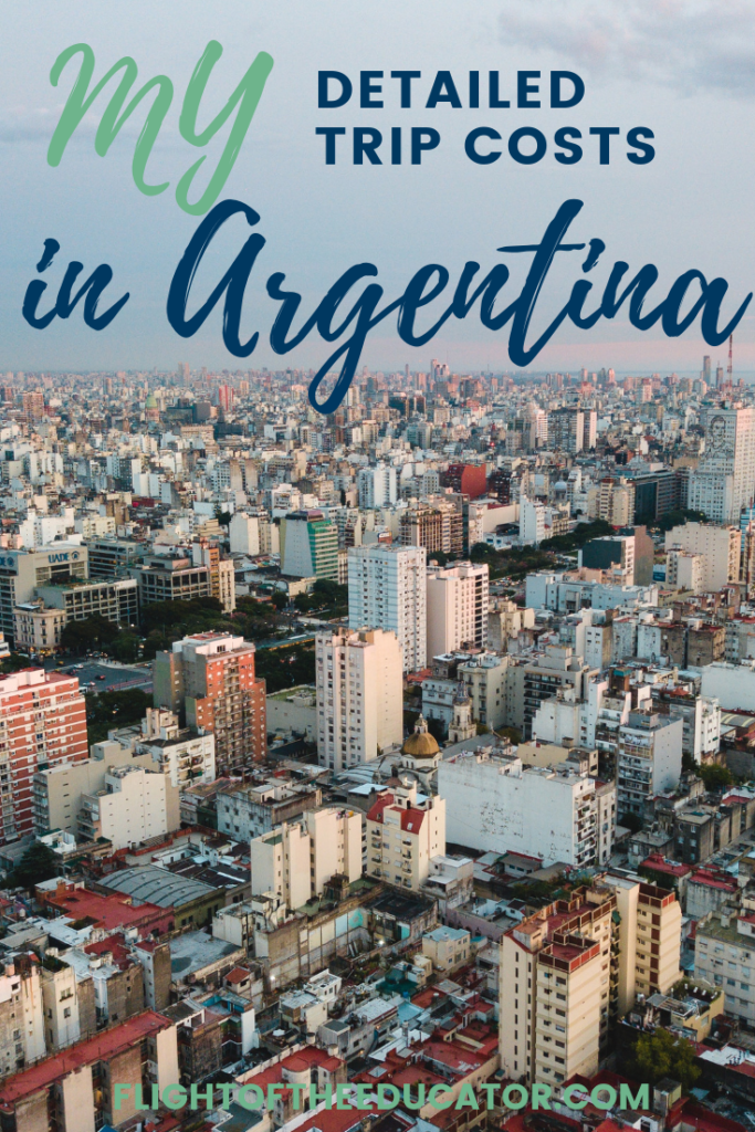 Argentina has so many places to visit including Buenos Aires, beaches, Patagonia, and Iguazu Falls! Click to read my actual costs to help you plan your trip to Buenos Aires and Iguazu Falls in Argentina!
