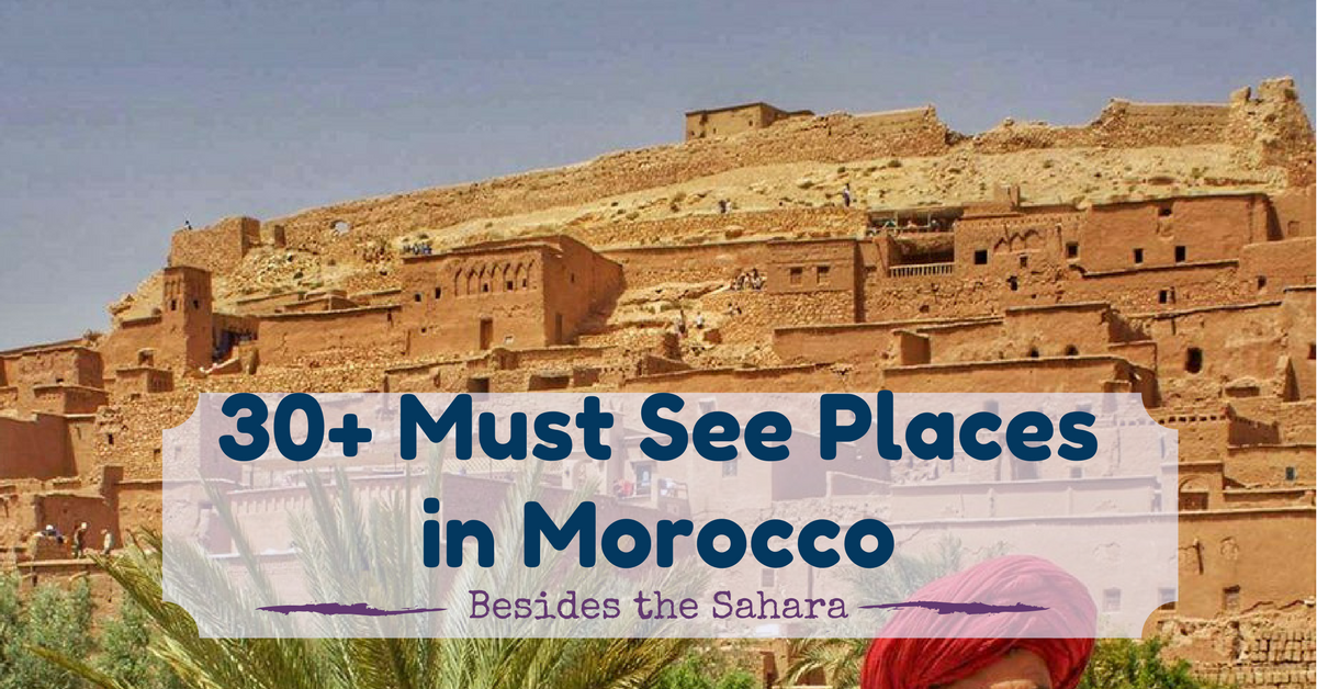 what to visit in Morocco