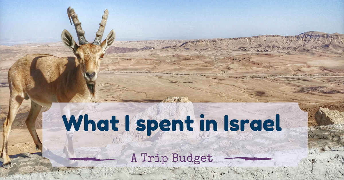 how much does a trip to israel cost