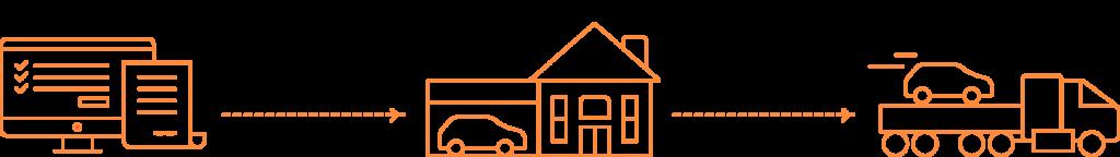 Background graphic-orange