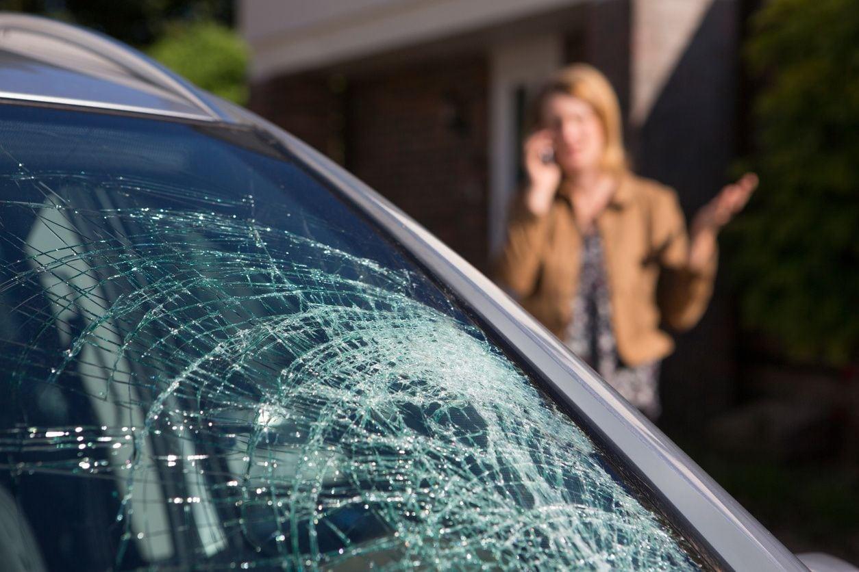 Person calling a car accident attorney in Harvey, LA