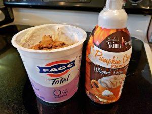 Pumpkin Spice Protein Sludge Yogurt