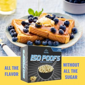 French Toast ISO POOFS - Low Carb KETO Cereal Snack