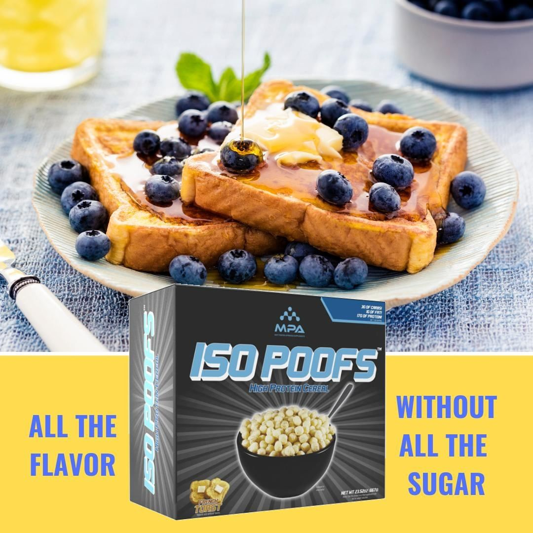 ISO POOFS – Low Carb KETO Cereal