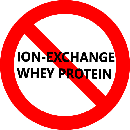 Say no to ion exchange