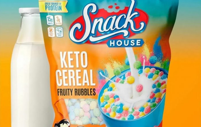 Fruity Pebbles Keto Cereal