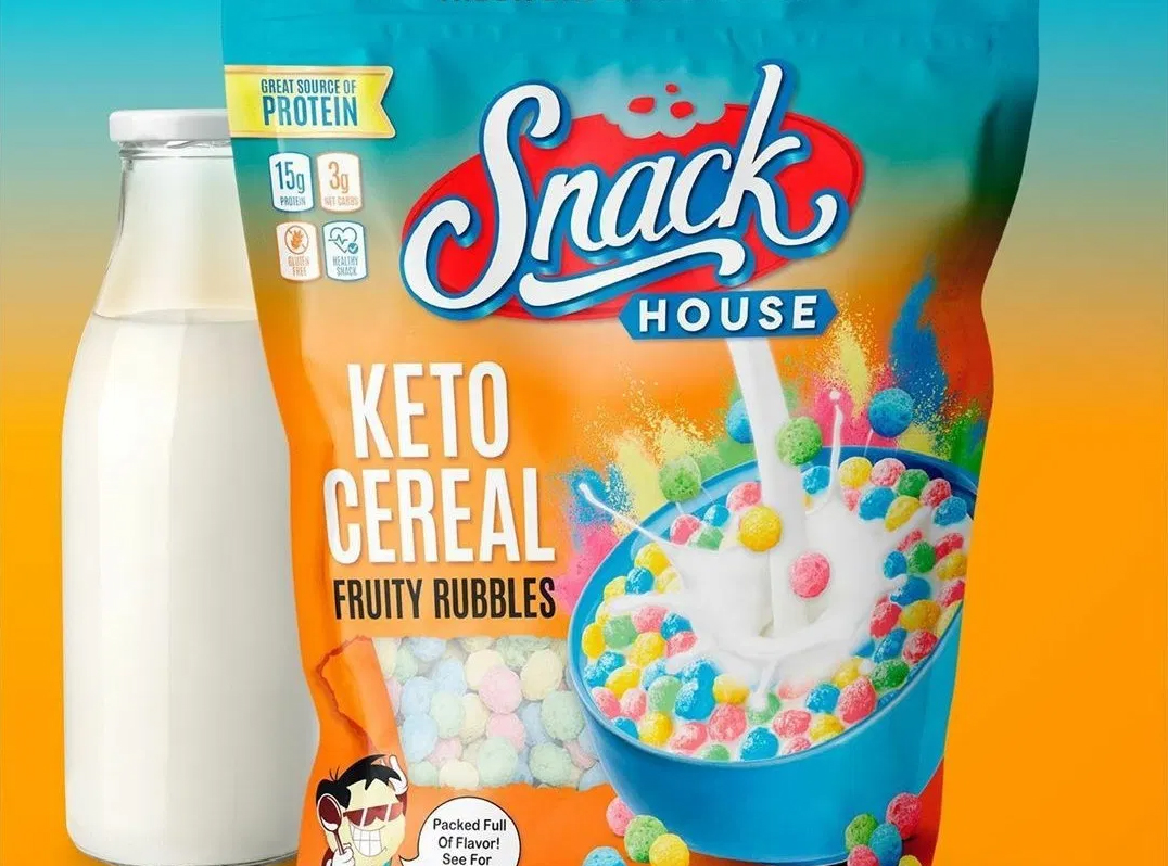 Fruity Pebbles Keto Cereal