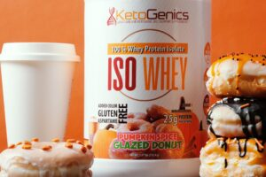 Pumpkin Spice Glazed Donut Whey Protein