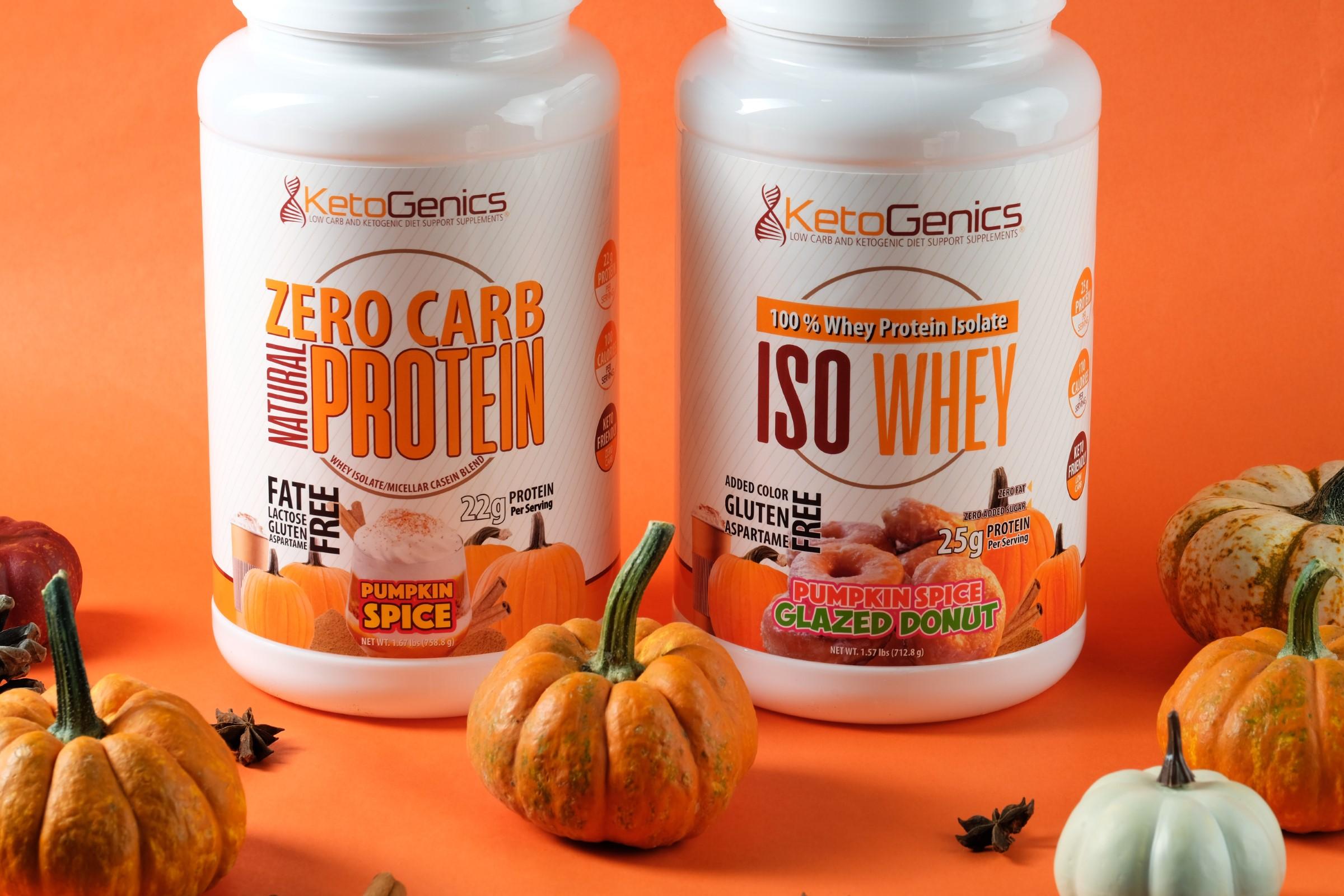 Pumpkin Spice Protein Powders