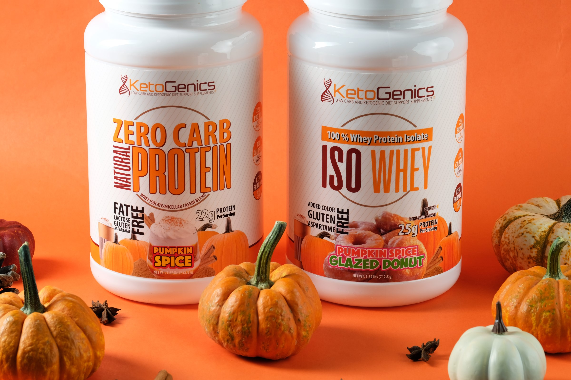Pumpkin Spice Protein Powders