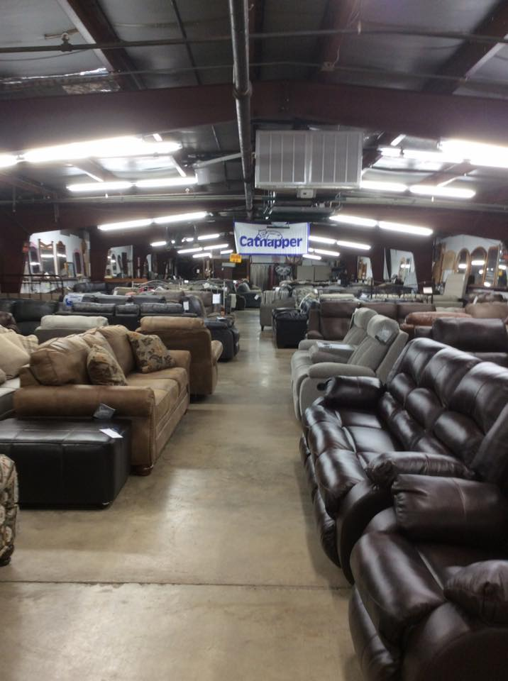 brown and leather couches