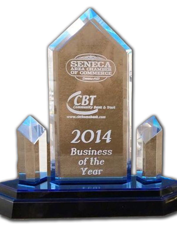 Crystal Engraged Awards