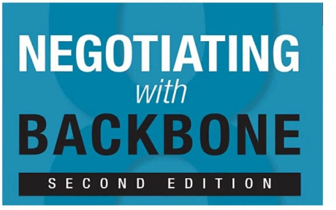 "Thought Leaders: ""Negotiating with Backbone"" By Reed Holden"