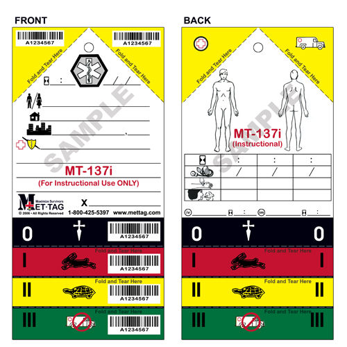 The MT-137i training tag