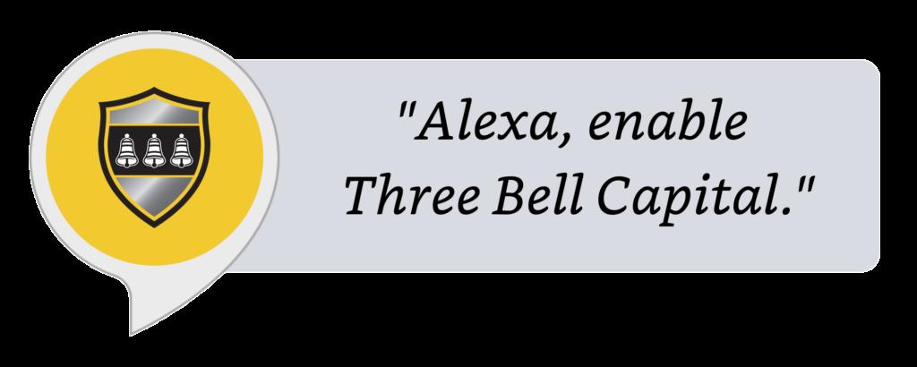 Three Bell Capital Alexa Skill