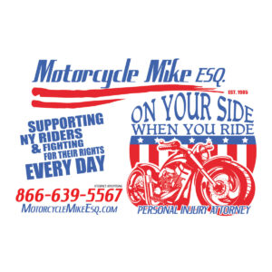 Motorcycle Logo Text for Attorney
