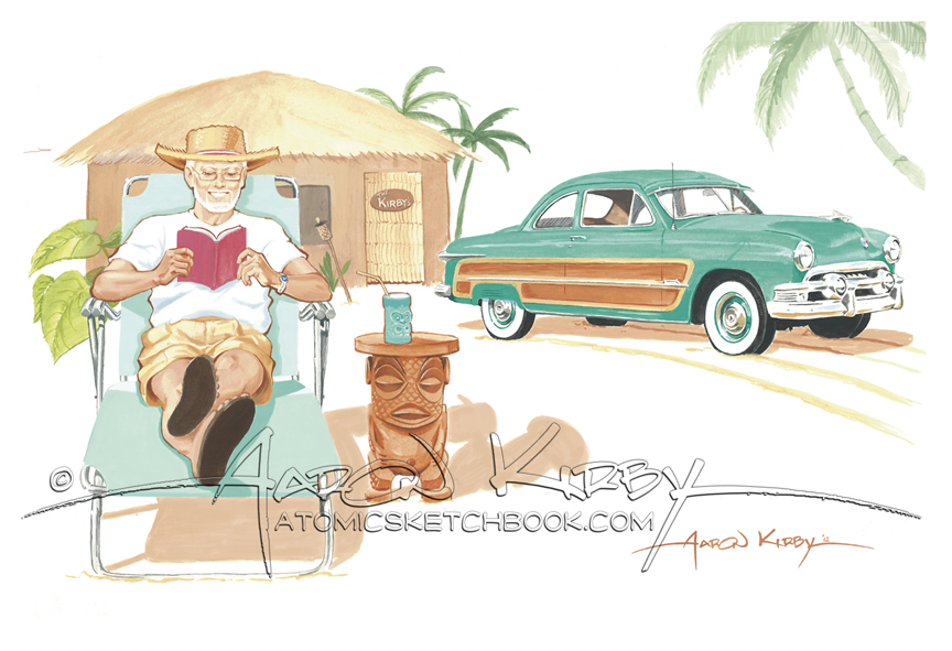 1951 Ford by Aaron Kirby