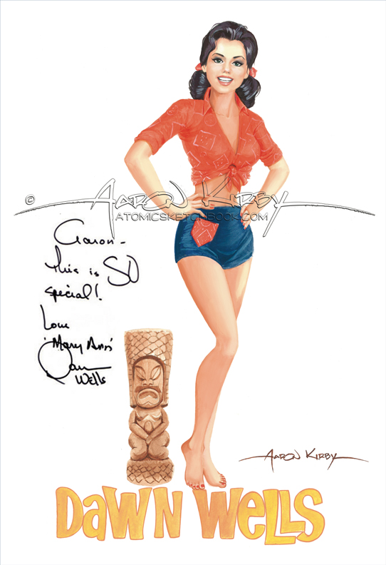 Dawn_Wells_by_Aaron_Kirby_signed