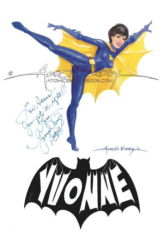 Yvonne_Craig_by_Aaron_Kirby_signed