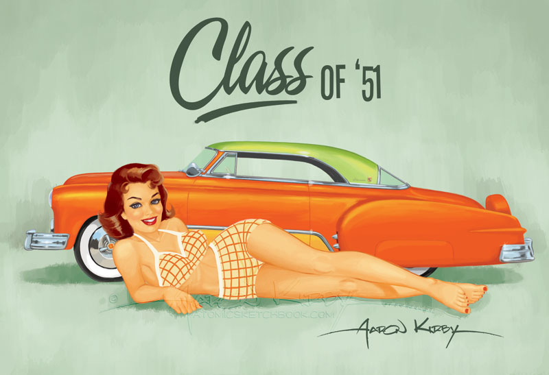1 Ernst Chevy pin up